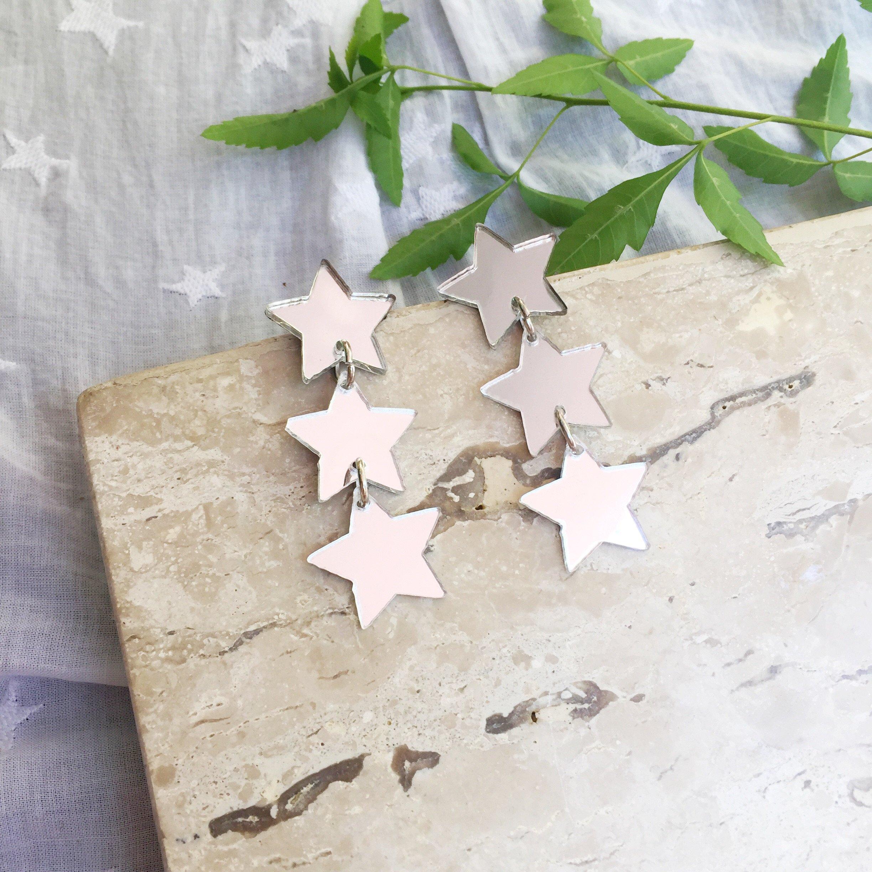 Aro Triple Estrella Plata