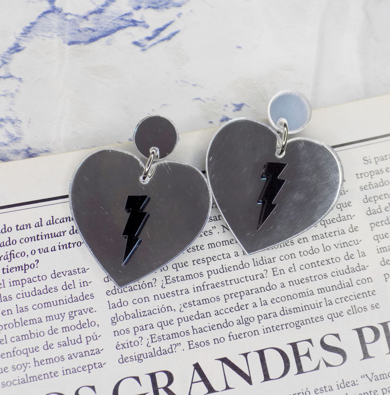 Aro Amor Rebelde Silver